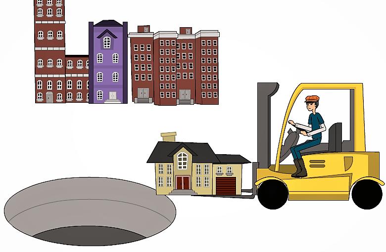 Il crack delle cooperative edilizie